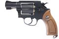 Gun Heaven (WinGun) 733 2inch 6mm Co2 Revolver (Brown Grip) - BK