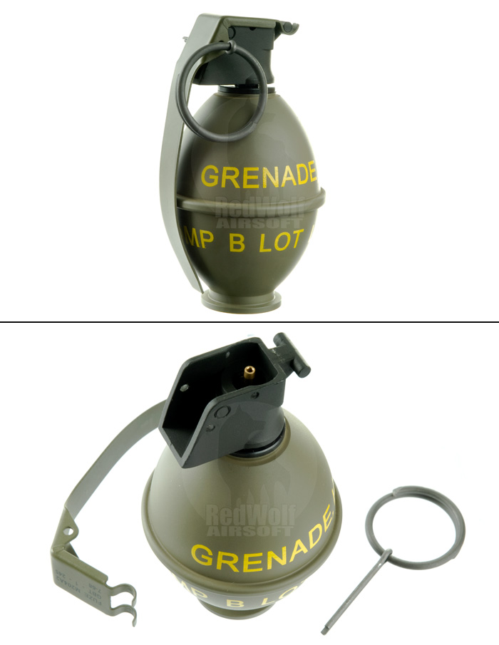 VFC Dummy M26 Grenade Gas Charger