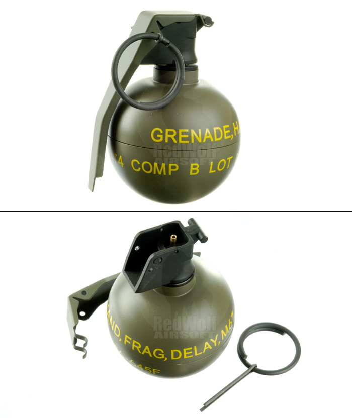 VFC Dummy M67 Grenade Gas Charger
