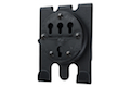 G-CODE RTI 3 Row MOLLE CLAW for Vests and Plate Carriers (Black)