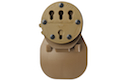 G-CODE RTI Paddle Adapter / Fits: All G-Code RTI Kydex Holsters (TAN)