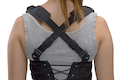 Ghost Gear Ladies Corset Rig Sharp Compact - Black