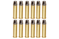 Gun Heaven Full Metal Brass Shells for WinGun / Dan Wesson 6mm Series Airsoft Co2 Revolvers (12pcs / Set)