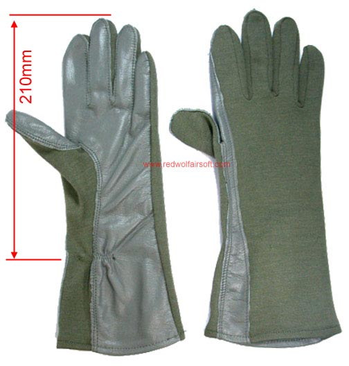 Milspex Gloves GI Nomex OD (Medium Length 31mm)