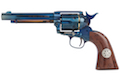 Umarex SAA .45 Co2 (GK Custom 6mm Version) Metal Revolver (Blue / Brown) - Cowboy Police Version (by WinGun)