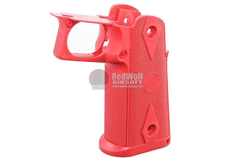 GK Tactical Nylon Grips for Tokyo Marui Hi-Capa GBB Series - Red