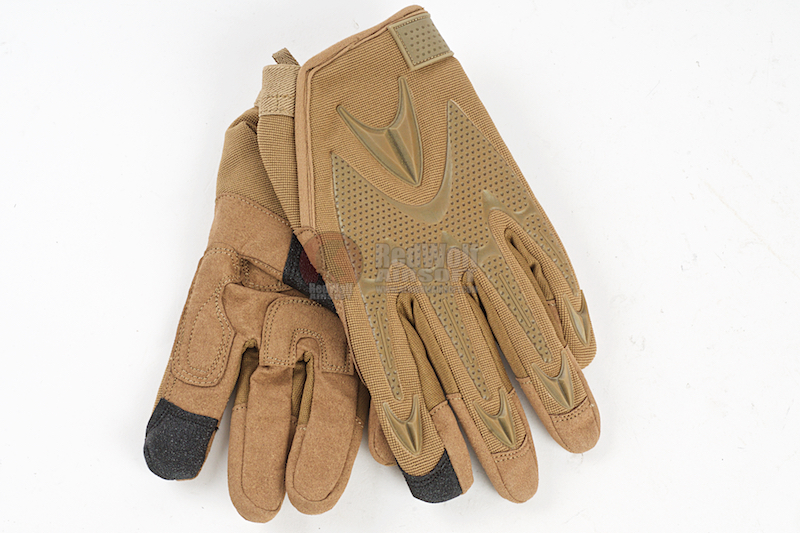 GK Tactical Fast Trigger Gloves (XL Size / TAN)