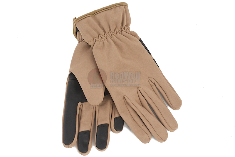 GK Tactical Warrior Gloves (XL Size / TAN)