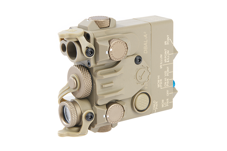 GK Tactical DBAL-2 Laser Devices (Green Laser) - Dark Earth