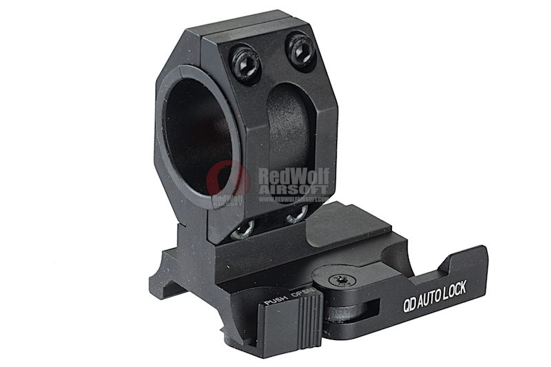 GK Tactical 25 / 30mm QD L-Shaped Scope Mount - BK