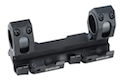 GK Tactical 25 / 30mm QD Dual Scope Mount - BK