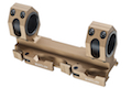 GK Tactical 25 / 30mm QD Dual Scope Mount - Tan
