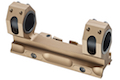 GK Tactical 25 / 30mm QD Dual Scope Mount - Tan<font color=yellow> (5G Sale)</font>