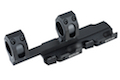 GK Tactical 25 / 30mm QD Extension Dual Scope Mount - BK