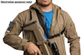 GK Tactical Single Point Bungee Sling  - Black