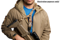GK Tactical Single Point QD Bungee Sling - TAN