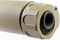GK Tactical SOCOM556 RC2 Suppressor (14mm CCW) - Tan