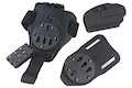 GK Tactical G17 Kydex Holster Set - Black
