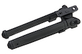 GK Tactical MG Style Adjustable Polymer Bipod for M-Lok - Black