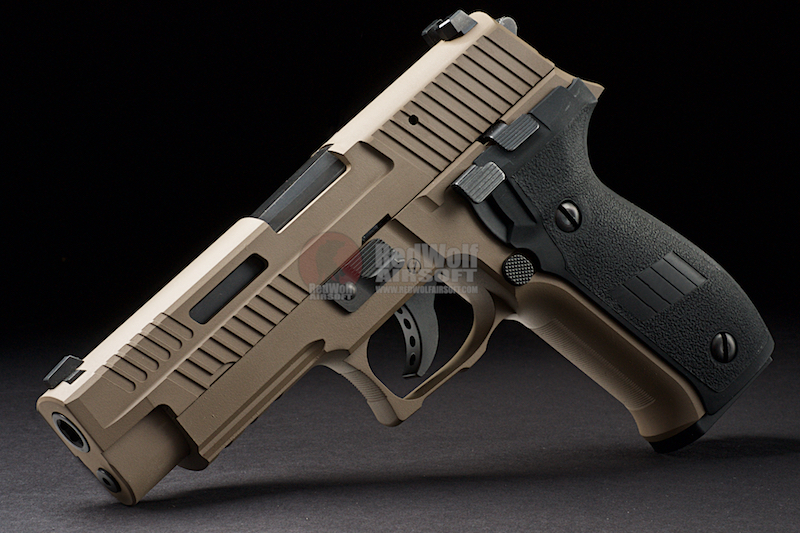 GK Tactical Custom Steel Version CNC 226 (CO2) - Magpul FDE