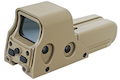 GK Tactical 552 Open Red Dot - TAN