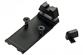 GK Tactical RMR Mount Base with Sight Set for SIG AIR P320 M17 / M18 GBB Pistol