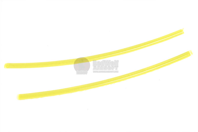 Guns Modify 1.0mm Fiber Optic for Gun Sight (Yellow) - 50mm*2