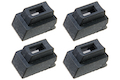 Guns Modify Extreme Custom Magazine Feed Lip for Tokyo Marui G Series Gas Mag. (#2 +0.20 or +0.25 / 70 inch) - 4pcs/set