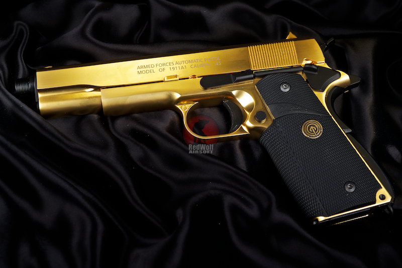 Socom Gear 24K Gold Plated Classic Government 1911 (Limited Edition 500 Worldwide)