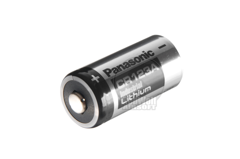 G&P Panasonic 123A battery