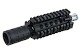 G&P QD Daniel Defense Style 4.5 inch Front Set for G&P M.T.F.C. System M4 Upper Receiver  - Black