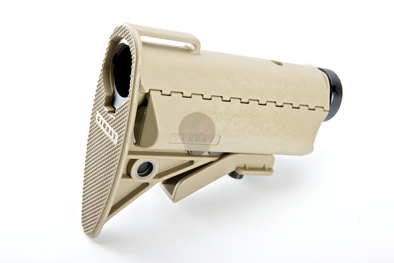 G&P Stubby Buttstock for Tokyo Marui & G&P M16 Metal Body - Sand