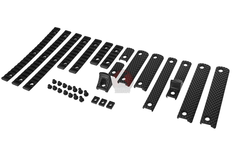 G&P URX III Rail Cover Set (L) - BK