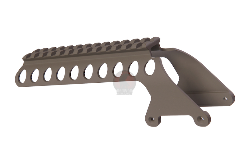 G&P M870 Receiver Rail (Short) - Sand