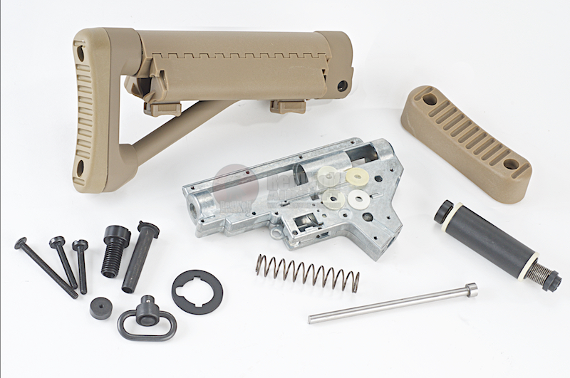 G&P Marine Battery Stock II F.R.S. Kit (Short / Sand)