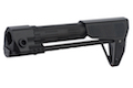 G&P PDW Stock (Slim) for Tokyo Marui & G&P M4 / M16 Metal Body Series (Checker, Black)