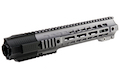 G&P Short Railed Handguard with SAI QD System for Tokyo Marui M4 / M16 AEG/ GBB Rifle  - Gray