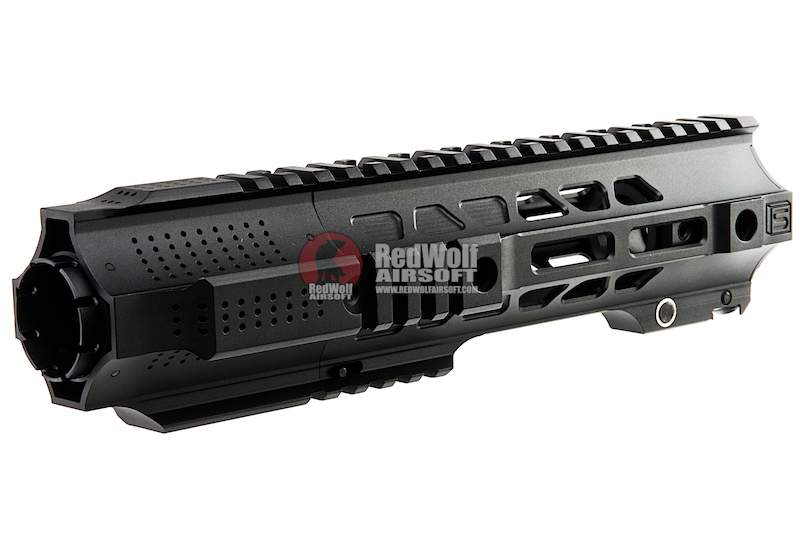 G&P CQB Railed Handguard with SAI QD System for Tokyo Marui M4 / M16 AEG/ GBB Rifle - Black