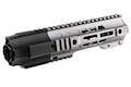G&P CQB Railed Handguard with SAI QD System for Tokyo Marui M4 / M16 AEG/ GBB Rifle - Gray