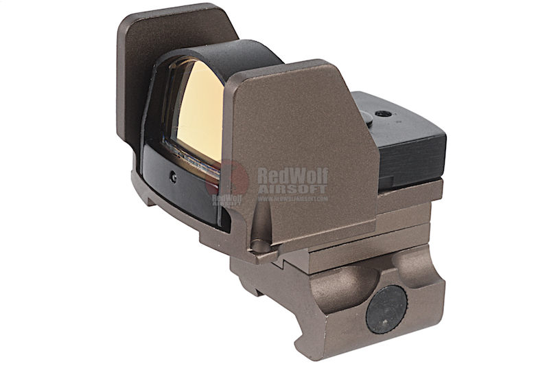 G&P OP Type Red Dot w/ Adjustable Guard Mount - Sand<font color=yellow> (5G Sale)</font>