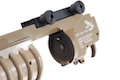 G&P Skull Frog Type QD M203 Grenade Launcher (Long / DE)