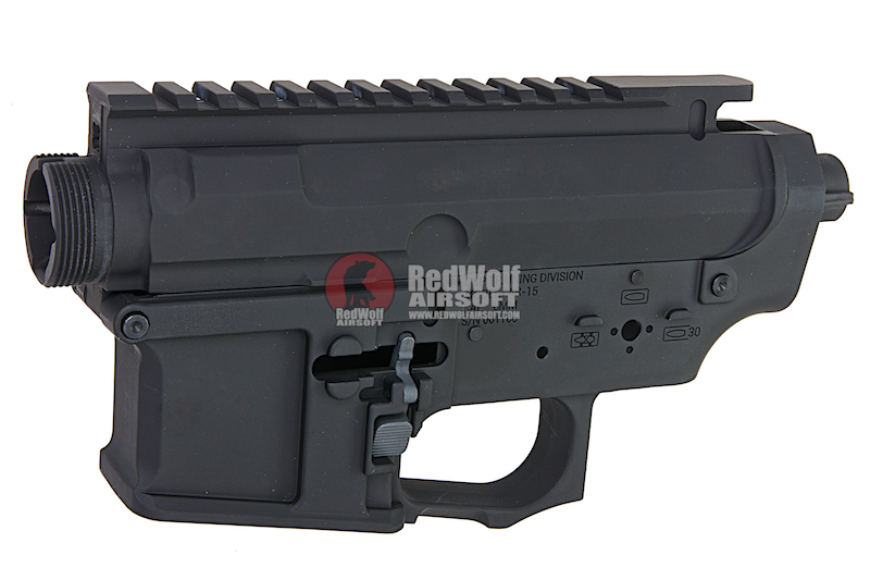 G&P Stealth GP Taper Metal Body for Tokyo Marui M4/ M16 Series & G&P FRS Series - Black