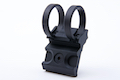 G&P M-LOK One O'Clock Flashlight Mount Ring (1 inch) - Black