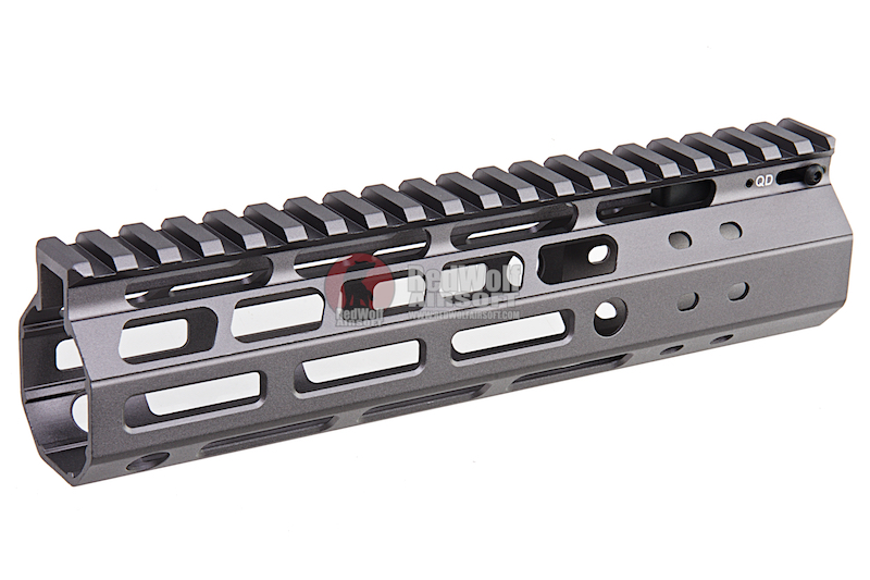 G&P Multi-Task Fore Change System 8 Inch M-Lok (Slim) for G&P M.T.F.C. System - Gray
