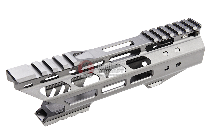 G&P Multi-Task Fore Change System 8 Inch Shark M-Lok (Slim) for G&P M.T.F.C. System - Gray<font color=yellow> (5G Sale)</font>