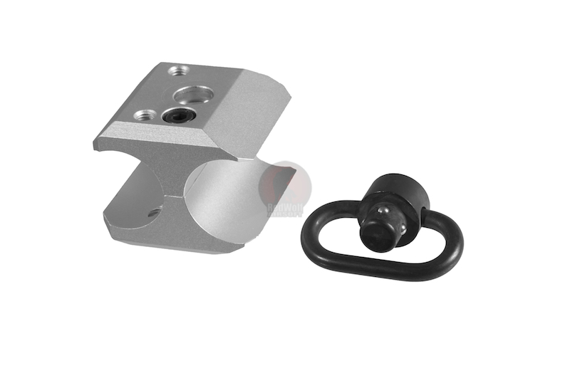 G&P M870 Barrel Mount Sling Swivel Adaptor (Silver)