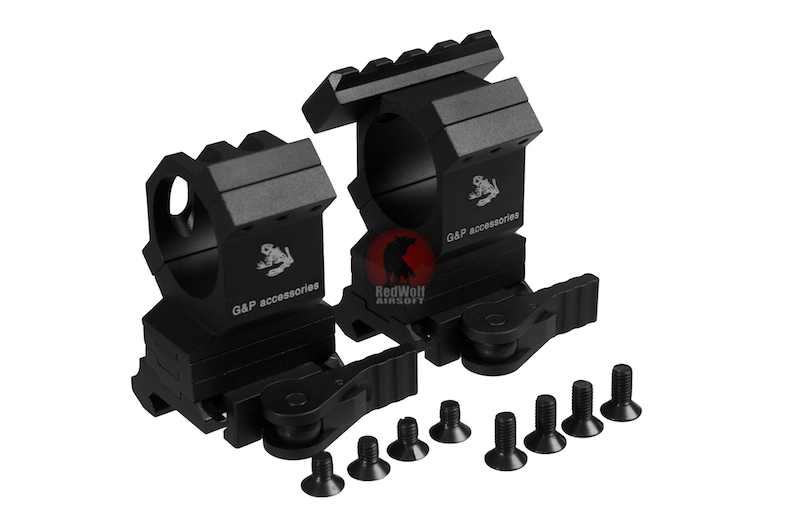 G&P Adjustable Tactical Ring w/ Quick Aim Interface