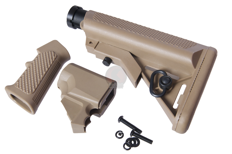 G&P M870 Pistol Grip with Buttstock Set B - Sand