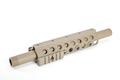 G&P Shotgun ForeArm Set B for G&P M870 Series (Half Rail) - Sand