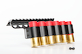 G&P Shotshell Receiver Rail Set for G&P M870 Metal Body (Short) - BK